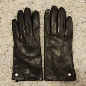 kate spade Accessories - Kate Spade Leather Gloves
